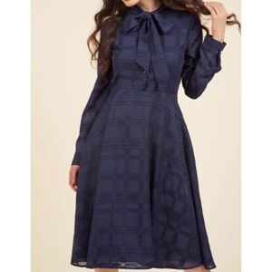 Modcloth Dignified Delivery Shirtdress Plus Size